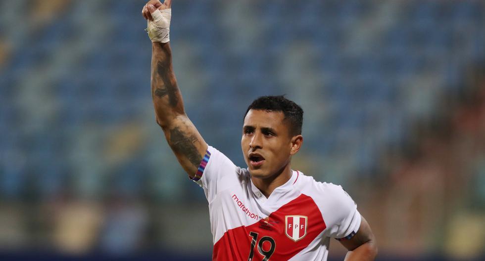 Yoshimar Yotún anotó en la definición por penales ante Paraguay, por los cuartos de final de la Copa América, (Foto: Reuters).