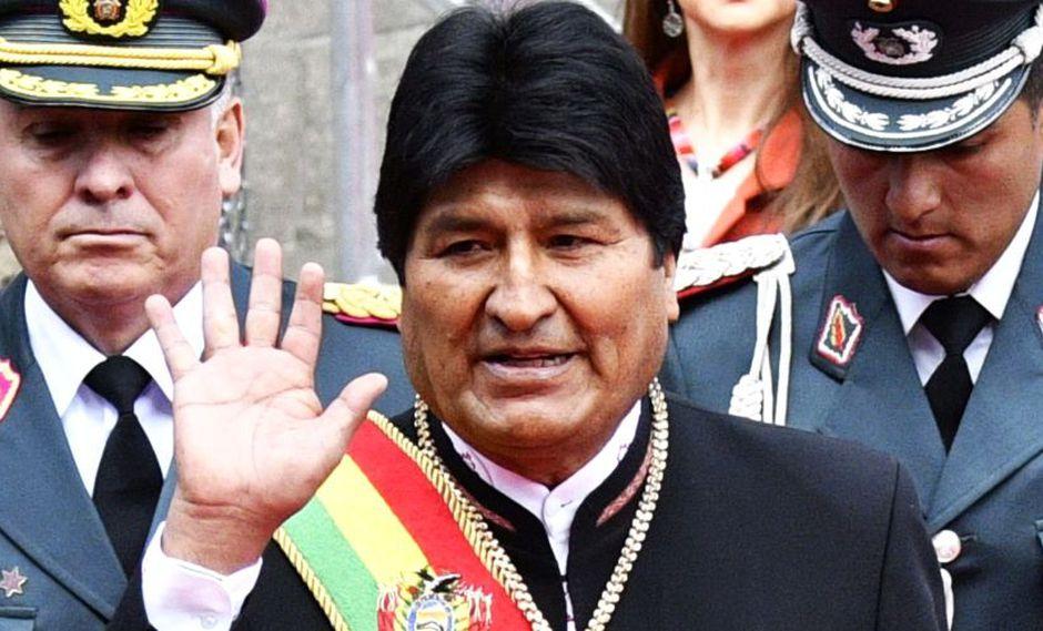 Evo Morales felicita a países en contra de intervención en Venezuela. (AFP)