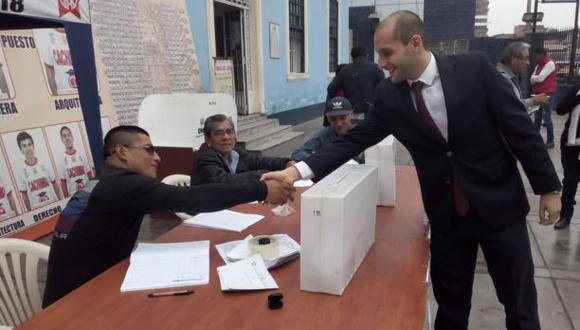 Núñez ha quedado como candidato del partido en una situación precaria. (Foto: Difusión)