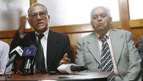 Alfredo Crespo y Manuel Fajardo