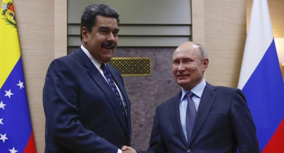 La relación entre Venezuela y Rusia comenzó con Chávez y Maduro busca fortalecerla. Foto: Getty images, vía BBC Mundo.