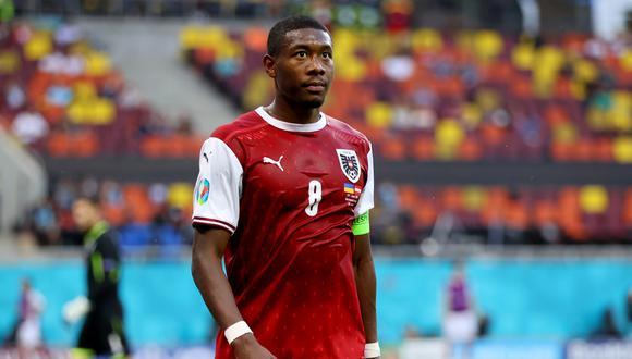 David Alaba jugará en el partido de octavos de final de Austria vs. Italia. (Foto: Reuters)