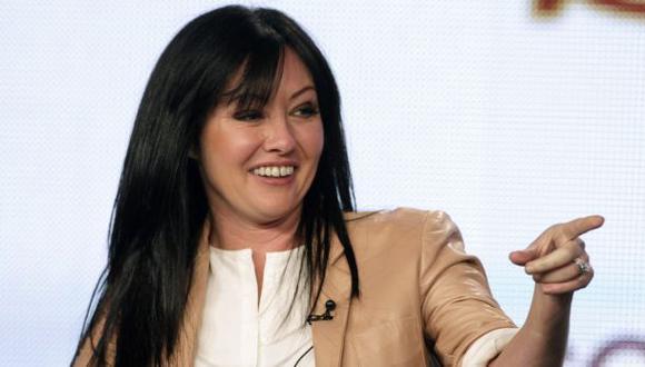 """Shannen Doherty de """"Beverly Hills"""" tiene cáncer de mama"""