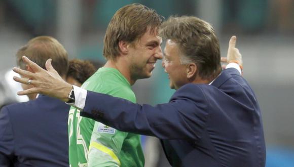 """Krul, el ataja penales de Van Gaal: """"Esto no es normal"""""""