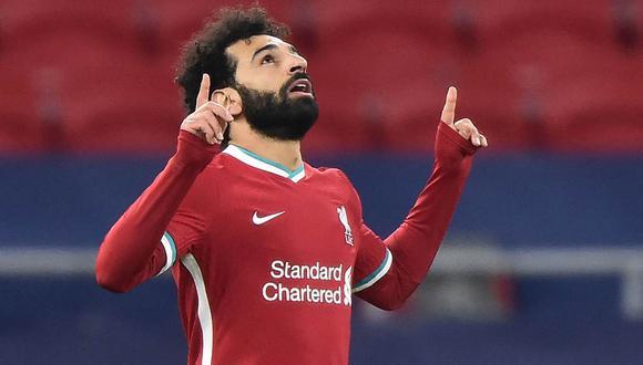 Mohamed Salah anotó dos veces en la presente temporada en Old Trafford. (Foto: AFP)