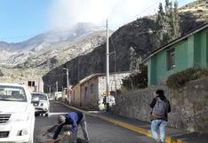 Instituto Geofísico del Perú: erupciones en el volcán Ubinas continúan en forma moderada