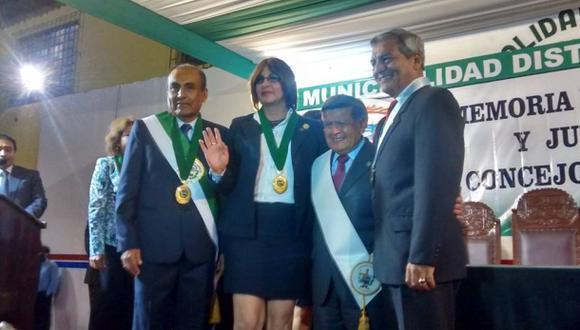 Trujillo: juró la primera regidora transexual del Perú