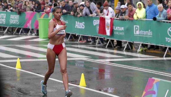 Kimberly García, medallista de Lima 2019 clasificada a los JJ.OO. (Foto: GEC)