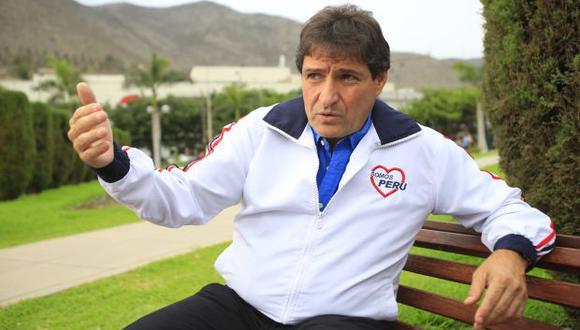 Zurek es secretario general de Somos Perú y fue elegido dos veces alcalde de La Molina. (Foto: Jessica Vicente / El Comercio)