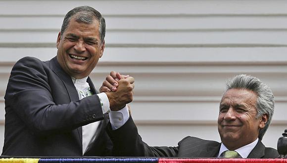 """Correa es proclamado """"presidente vitalicio"""" de su partido"""