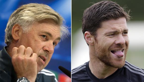 Ancelotti responde a Xabi Alonso y defiende a Cristiano Ronaldo
