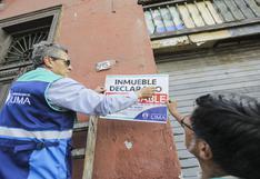 Centro Histórico: más de 1.200 viviendas figuran en condición de inhabitables, según Municipalidad de Lima | FOTOS