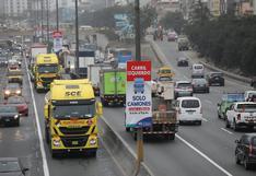 El adiós al 'pico y placa' de camiones: Indecopi publicó fallo que declara disposiciones de MML como barreras burocráticas