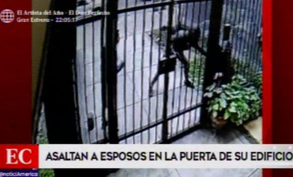 Robo se produjo en Pueblo Libre. (Foto: América Noticias)