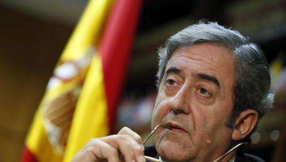 Javier Zaragoza, fiscal español. (Foto: EFE)