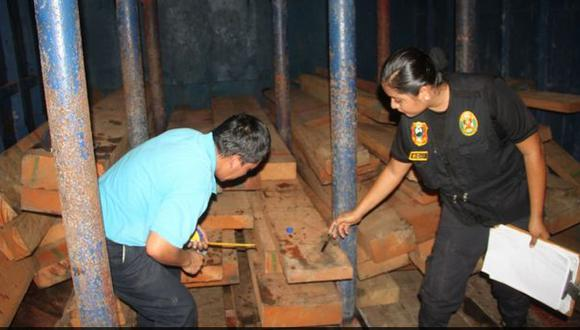 Inmovilizan un millón de pies tablares de madereras ilegales