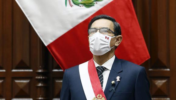 El presidente Martín Vizcarra, cuando era gobernador regional de Moquegua, habría recibido dinero ilícito a cambio de favorecer a un empresa en un proceso de licitación, según un aspirante a colaborador eficaz. (Foto: Presidencia)