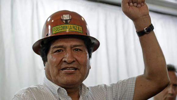 Partido de Evo Morales ganaría las elecciones presidenciales en Bolivia en primera vuelta, según encuesta. (Foto: Alejandro PAGNI / AFP).