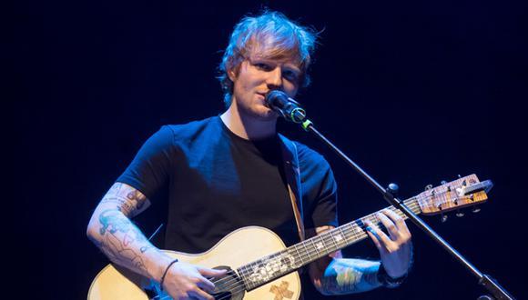 Ed Sheeran: entradas para show en Lima se agotaron en 4 horas