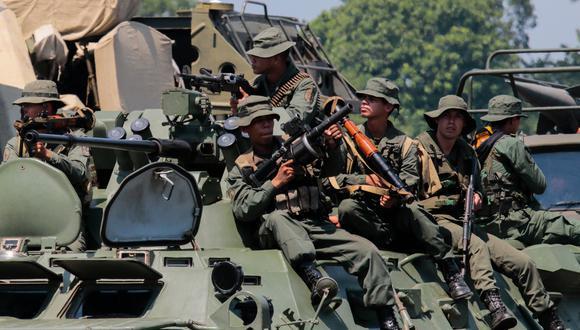 Venezuela inicia ejercicios militares, pero no dispara una bala. Foto: AFP