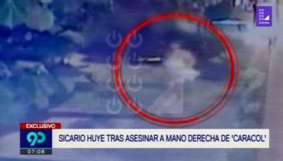 Este sería el sujeto que asesinó a Junior Tarazona en un sauna de San Isidro. (Foto: Latina)