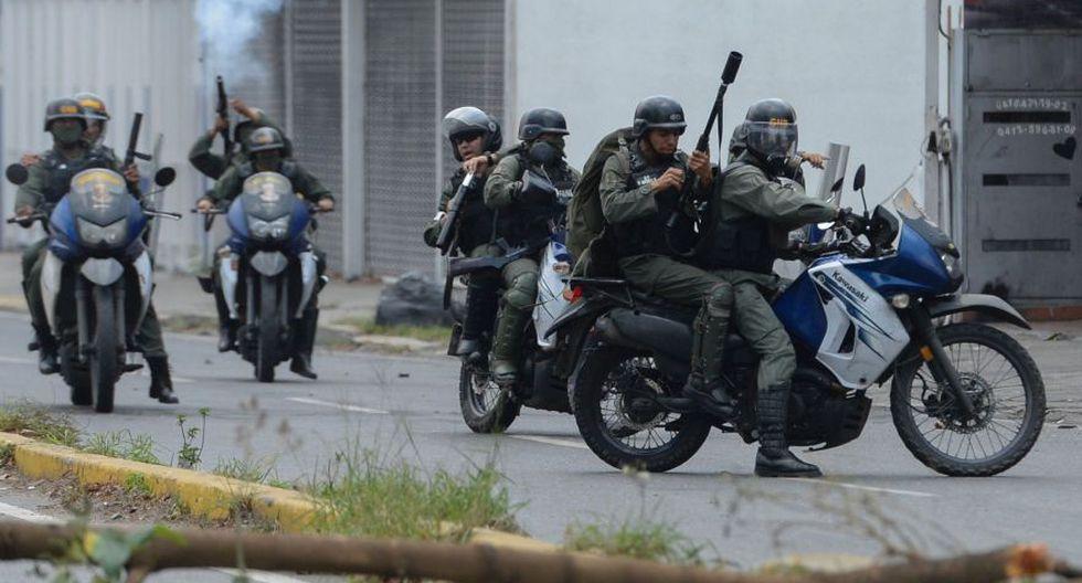 Venezuela: Duros enfrentamientos en calles de Caracas [FOTOS] - 19