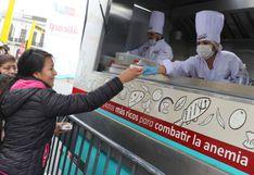 Sazón de Hierro: la ruta de los 'food trucks' contra la anemia