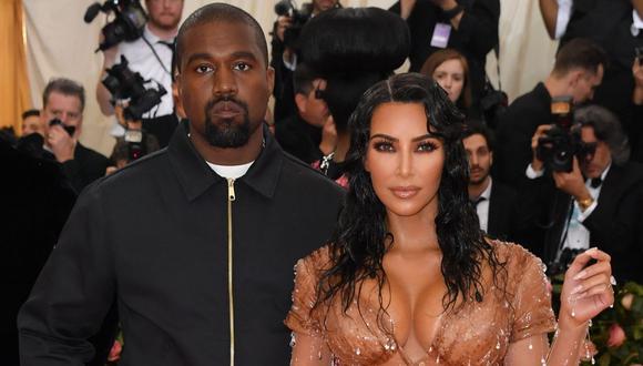 Kim Kardashian es captada llorando mientras discute con Kanye West dentro de un auto. (Foto: AFP/Angela Weiss)