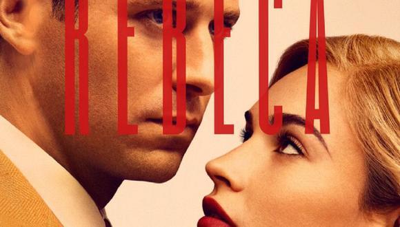 """Lily James y Armie Hammer interpretan a los esposos De Winter en la nueva versión de """"Rebeca"""" (Foto: Netflix)"""