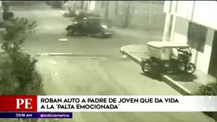 Callao: las imágenes del robo que dejó triste a la 'palta emocionada'