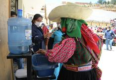 Lambayeque: explican correcto lavado de manos en quechua en distrito de Incahuasi