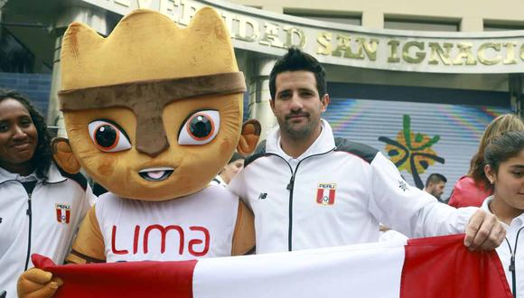 El abanderado de Perú, Stefano Peschiera, continúa en la competencia de vela en Lima 2019. (Foto: GEC)
