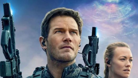 "Chris Pratt e Yvonne Strahovski en ""La guerra del mañana"" (Foto: Amazon Prime Video)"