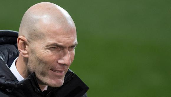Zinedine Zidane confía en la recuperación de Real Madrid en LaLiga. (Foto: AFP)