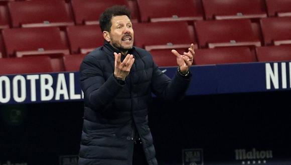 """""""Recuperó su espíritu y transformó al Atlético en un rival menor""""; la crítica a Simeone tras perder por Champions League. (Foto: EFE)"""