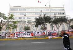 Simpatizantes de Perú Libre continúan acampando en los exteriores del Jurado Nacional de Elecciones | FOTOS