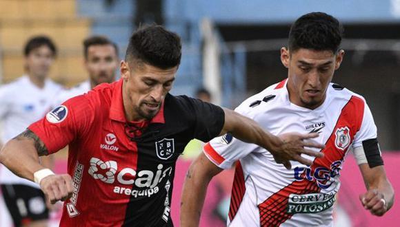 Melgar definirá el pase a la segunda ronda de la Copa Sudamericana 2020 en Arequipa. (Foto: AFP)