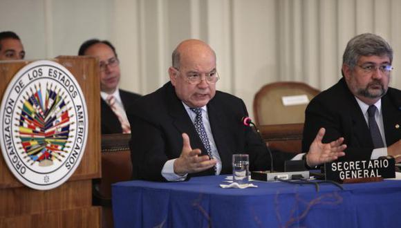"""Venezuela: """"Loco"""", """"mentiroso"""", lo que se dijeron en la OEA"""