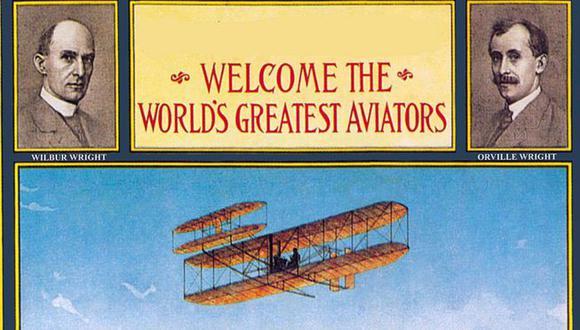 Los hermanos Wright vendieron su primer avión de producción en 1908 por US$25.000 al Departamento de Defensa de Estados Unidos, el equivalente de unos US$700.000 hoy. Foto: Getty images, vía BBC Mundo
