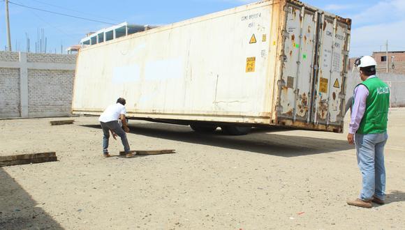 El municipio de Sullana informó que la estructura llegó tras coordinaciones con el ministro de Vivienda, Construcción y Saneamiento, Rodolfo Yáñez. (Foto: Municipalidad de Sullana)