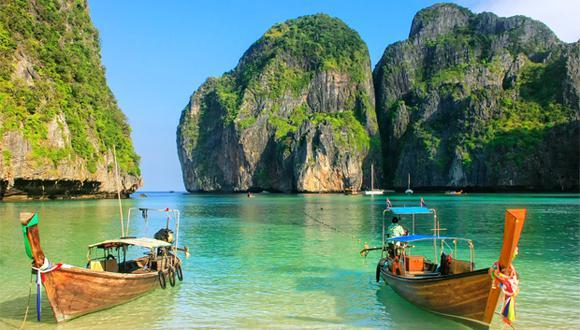 Cada año, la bahía de Maya, en Tailandia, cerrará por cuatro meses, para preservar su ecosistema. (Foto: Shutterstock)