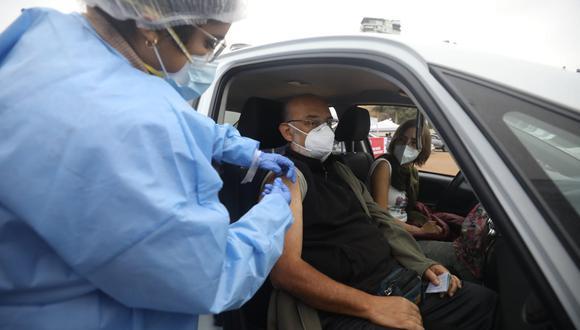 La vacunación avanza en todo el país. (Foto: Britanie Arroyo / @photo.gec)