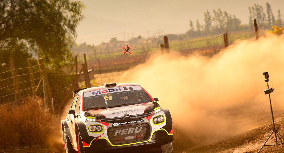 El Copec Rally Mobil se corre con coches de características del Mundial. El peruano Eduardo Castro corre en un R5. (Foto: Facebook)