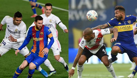La Superliga Europea irrumpe en el fútbol para desplazar a la Champions League con la presencia del Real Madrid y el FC Barcelona. (Foto: AFP)