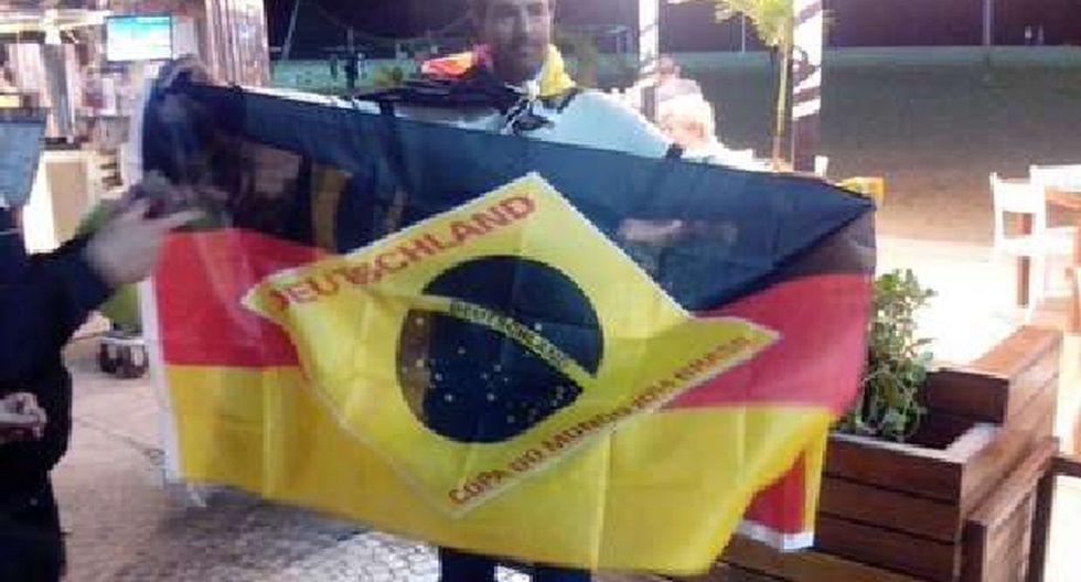 La Brazuken: la bandera que hinchará mañana por Alemania - 2