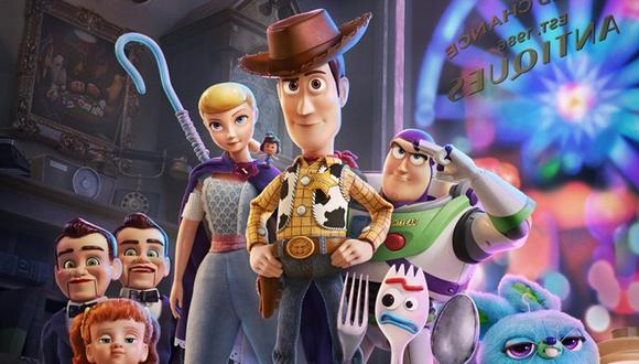"""Afiche oficial de """"Toy Story 4"""". (Foto: Disney Pixar)"""