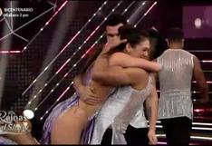 """Reinas del Show"": Jazmín Pinedo abrió la gala al ritmo de salsa"