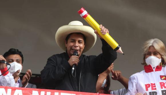 Pedro Castillo durante una actividad pública en la ciudad de Arequipa | Foto: Eduardo Barreda / @photo.gec