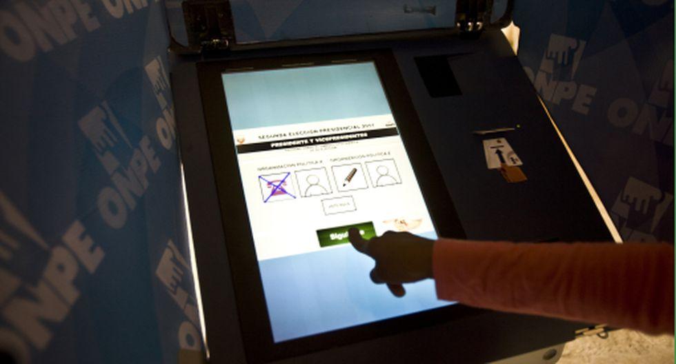 ONPE: voto electrónico en 30 distritos de Lima y Callao