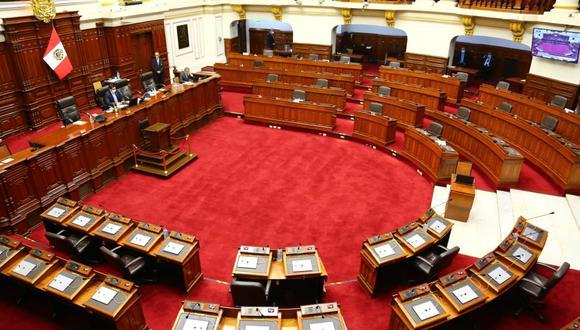Portavoces de AP y APP apoyan que se convoque un pleno electoral que permita  aprobar proyectos de ley vinculados a la reforma política antes del 28 de setiembre (Foto. Congreso)